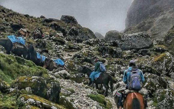 Dia 2 – O dia mais puxado da trilha: Querendo alcançar o Salkantay